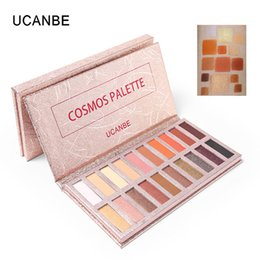 Eyeshadow Palette Full Size UK - Wholesale 20 Colors Eyeshadow Palette Shimmer Matte Sexy Radiant Makeup Smokey Warm Pigment Long Lasting Shadow Powder Natural Eye Makeup