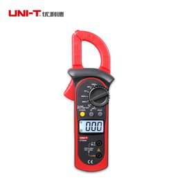 clamp multimeter ac dc Australia - UNI-T LCD Digital Clamp Multimeter Backlight Ohm DMM DC AC Voltmeter AC Ammeter Current AC DC Voltage Resistance Meter
