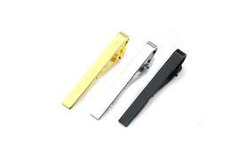 $enCountryForm.capitalKeyWord Australia - Glaze Silver Gold Black Men's Tie Clips Business Suits Shirt Necktie Tie Bar Clasps Fashion Jewelry for Men DHL Free