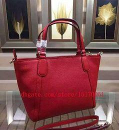 $enCountryForm.capitalKeyWord Australia - new 100% genuine leather women tote hand Bags famous name women bag lady shoulder trapeze bag 290
