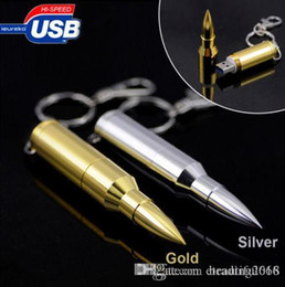 $enCountryForm.capitalKeyWord Australia - 4 8 16 32 64GB Metal Bullet USB 2.0 Flash Pen Drive Memory Stick Thumb Storage U Disk