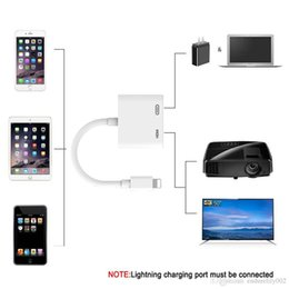 $enCountryForm.capitalKeyWord Australia - For Lightning To Digital Av Hdmi Adapter 4k Usb Cable Connector Up To 1080p Hd For Iphone X 8p 6 6s 7 7p ipad Air ipod 20 Pcs Free Ship