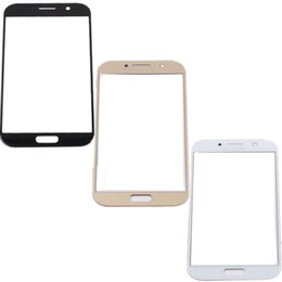 samsung galaxy a5 touch screen 2019 - 100PCS For Samsung Galaxy A5 2017 A520 A520F outdoor glass   front front lens cover screen (without digitizer) for Galax