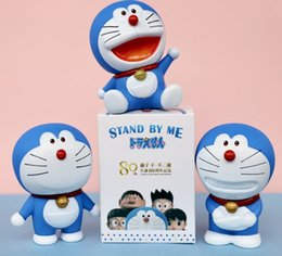 made toys china NZ - 5pc set Janpenese Cartoon Toys Machine Cat Doll Car decoration Hand-made Decoration Lucky Egg Blind Box Gift Package For Birthday Gift HWJ23