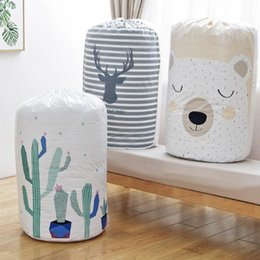 Toy Pillow Blanket Australia - Pillow Blanket Bedding Storage Bag Clothes Packaging Toy Packing Bag Quilt Closet Clothing Luggage Bag For Home Large Organizer