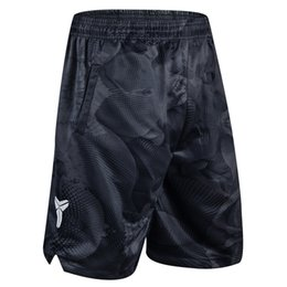 Kd gold white online shopping - Men Shorts Basketball Pants Sports Shorts Black Mamba Camouflage KD Polyester Knee Length Breathable Quick drying Training Active M XL