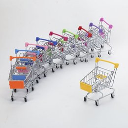 kitchen utilities NZ - Pretend Small Creative Strollers Play Supermarket Utility Toys Shopping Simulation Children Handcart Cart Cart Mini Kitchen Toy