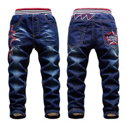 $enCountryForm.capitalKeyWord Australia - 2-15y Children Winter Pants Warm Add Wool Denim Trousers For Teenage Boys Casual Mid Elastic Waist Water Jeans Soft Cotton Pants J190517