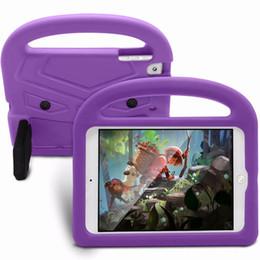 $enCountryForm.capitalKeyWord Australia - Kids Children Handles Stand Soft EVA Cover Tablet Silicone Case Sparrow Shockproof Safe Case for iPad Mini 1 2 3 4 Air new Pro 9.7 MQ100