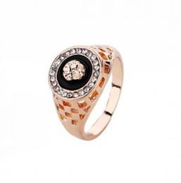 Lion man rings online shopping - Vintage Male Gold Lion Head Ring For Men Wedding Engagement Rings Punk Rock Biker Men s Ring with diamond Jewelry GGA1606