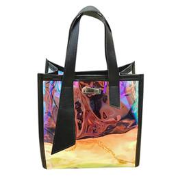 $enCountryForm.capitalKeyWord Australia - Women's Fashion New Multi-Function Laser Color Handbag Large Capacity For Student Ladies Messenger Shop Shoulder Bag