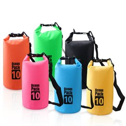Wholesale Outdoor Drifting Waterproof Bucket Bag Surfing Waterproof Drying Bag Beach Boat For Submarine Diving Collapsible L L L