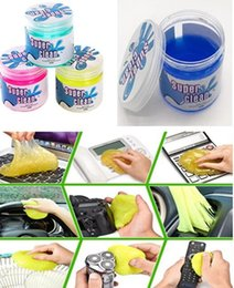 Wholesale Hot Magic Dust Cleaning Multi function super clean Cell Phone screen Cleaning mud Transparent Cleaner Compound Slimy Gel keyboard computer