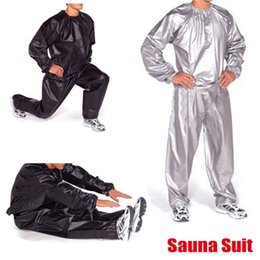 Body Sauna UK - Body Building Fitness Hat Sauna Clothes Lose Weight Keep Slimming Waterproof Gym Exercise Training Workout Hooded Suit #88341