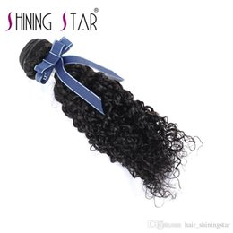 $enCountryForm.capitalKeyWord Australia - hair bundles Jerry curl extensions shining star high quality lower price virgin hair cuticle aligned hair weaves
