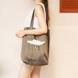 $enCountryForm.capitalKeyWord Australia - 20PCS   LOT Women Shopping Bag Foldable Environmental Storage Bag Reusable Cartoon Tote Pouch Oxford fabric Handbags
