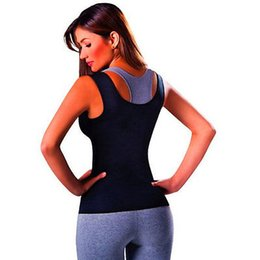 hot shapers vest men UK - Dropshipping 2019 Women Hot Neoprene Body Shapers Slimming Waist Slim Sportswear Vest Woman Underbust Shaper Plus Size S-2XL