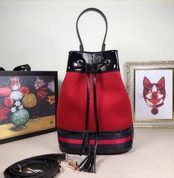Stylish Wool Dress Australia - 550621 20.5cm Stylish red bucket bag WOMEN HANDBAGS ICONIC BAGS TOP HANDLES SHOULDER BAGS TOTES CROSS BODY BAG CLUTCHES EVENING