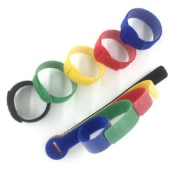 $enCountryForm.capitalKeyWord Australia - Strapping Tape 5 Colors Can Choose Magic Tape Wiring Harness Tapes Cable Ties Tie Cord Computer Management Cable Tie