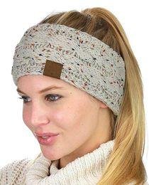 Women yoga headband online shopping - Knitted Headband Adults Man Woman Sport Winter Warm Beanies Hair Accessories Boho Yoga Headbands Fascinator Hat Ear Head Dress Headpieces