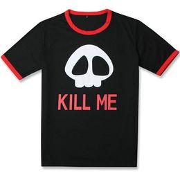 $enCountryForm.capitalKeyWord NZ - Kill me t shirt Gintama skull short sleeve gown Cosplay design anime tees Leisure printing clothing Unisex cotton Tshirt