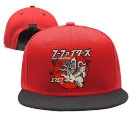 $enCountryForm.capitalKeyWord NZ - Foo Fighters Many Dragons Design Snapback Flat Brim Baseball Caps Hip-Hop Sun Hats Adjustable Retro