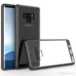 $enCountryForm.capitalKeyWord Australia - Aicoo Luxury Ultra Thin Clear Acrylic TPU Case Shockproof Back Cover iPhone XS MAX 8 7 6 Plus 5se Samsung S9 S8 Note 8 A9 J2 Core LG K30 OPP