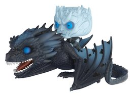 Game Thrones Toys UK - NEW Hot 11cm 2pcs Night's King Game of Thrones Nights King Viserion Dragon Action Figure Toys Collector Christmas Gift No Box