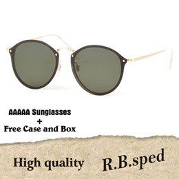 fc31f3676 2019 Fashion Trend Round Sunglasses Vintage Retro Brand Design Polarized  Mirror Sun Glasses Women Oculos De Sol with original retail box