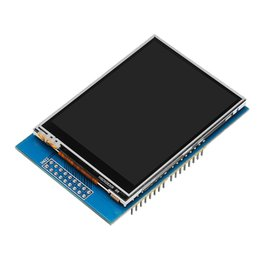 tft touch module UK - 2.8 inch TFT LCD Color Touch Screen Pannel Module Controller Board with SD Card Slot For Arduinord SD