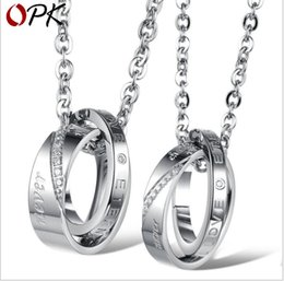 Necklaces Pendants Australia - 2019 New jewelry exquisite gifts Simple couple necklace pendant