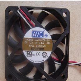 $enCountryForm.capitalKeyWord NZ - Original AVC 6010 12V 0.40A 6CM 6cm 3 lines Large air volume Chassis fan DA06010B12U