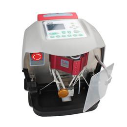 X6 automatic key cutting online shopping - Top Rated Automatic V8 X6 Car Key Cutting Machine V8 Auto Key Programmer Fast x6 key machine by DHL