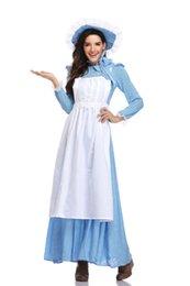 15bd2ddf7c8ef Sexy Adult Victorian Maid Costume Florence Nightingale Fancy Dress Womens  Ladies New SM1913