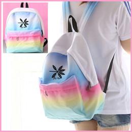 Exo Backpacks Australia - Women Backpack 2019 EXO New Gradient Canvas Bag Student Backpack Travel Bag School Bags For Teenage Girls Kawaii