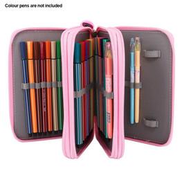 Pencil Bag Sketch Cute Storage Pouch School Supply Pen Case Stationery Oxford Box 3th Floor 52 Holes