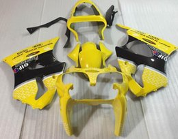 Custom Zx636 Australia - 3 Gifts New ABS Motorcycle fairings Kit Fit For Kawasaki Ninja ZX636 ZX-6R ZX-636 636 6R ZX6R 00 01 02 ZZR600 2000 2001 2002 custom yellow