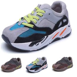 waterproof winter kids shoes NZ - Kids Shoes Baby Designer Shoes Trainers Kids Boys Girl Athletic Sneakers Autumn winter Running Sports Fashion Trainer Shoes Toddler Sneakers