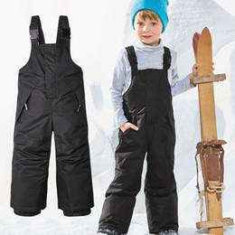 Waterproof Suit Kids Australia - Kids Ski Suits Winter Warm Snowboard Ski Jacket Boys Girls Windproof Waterproof Fleeced Skiing Snowboarding Jacket Child