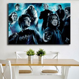 Discount harry potter art - Harry Potter And The Half Blood Prince Movie Oil Pringting on Canvas Modern Poster Art Printing Decorative Wall Pictures