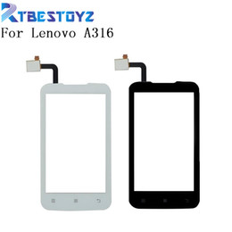 $enCountryForm.capitalKeyWord Australia - Mobile Phone Touch Screen For Lenovo A316 A316i Touch Front Glass Screen TouchScreen Digitizer Panel Sensor