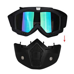 sunglasses snowboard Australia - New Windproof outdoor UV400 riding goggles Winter skiing equipment ski goggles Snowboard masks Motocross sunglasses Wholesale