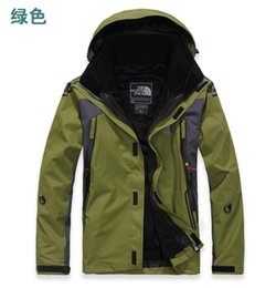 sport winter jackets UK - THENORTHFACE outdoor sport high quality Wholesale and retail Men's outdoor jackets outdoor mountaineering jacket winter ski suit