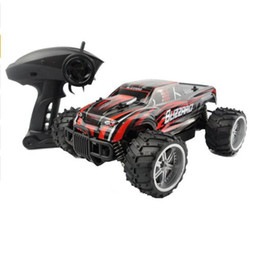RC Car Monster Truck Big-Foot Truck Speed Racing Remote Control SUV Buggy Off Road Vehicle Electronic Hobby Toys For Children