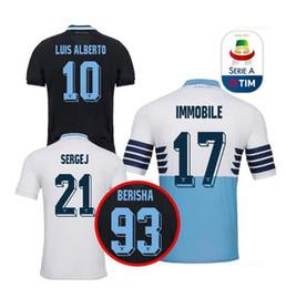 34b6af2e1 2018 2019 Lazio home Soccer Jerseys 18 19 away F.ANDERSON LUCAS KISHNA  BASTA D JORD JEVIC KEITA IMMOBILE LULIC Football shirts uniform