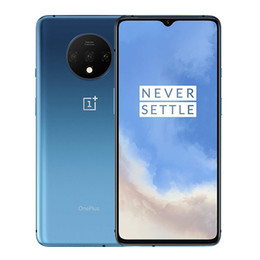 """Wholesale Original Oneplus 7T 4G LTE Cell Phone 8GB RAM 128GB 256GB ROM Snapdragon 855 Plus Octa Core 6.55"""" Full Screen 48MP NFC Face ID Mobile Phone"""