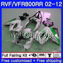$enCountryForm.capitalKeyWord NZ - Body For HONDA Interceptor VFR800RR 02 03 04 05 06 07 258HM.18 VFR 800R 800RR VFR800 RR 2002 2003 2004 2005 2006 2007 Green flames Fairing
