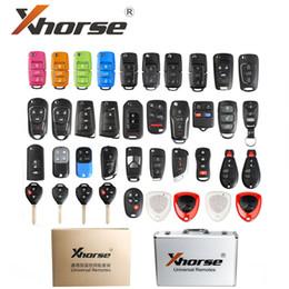 Key Shell For Ford Australia - XHORSE Universal Remotes Key Shell English Version One set ( 39 pcs ) package for VVDI2 or VVDI Key Tool