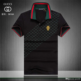 shirt italian style NZ - Best Italian Classic style POLO men's designers casual sports wild polo shirt trend simple printing digital design high quality cotton