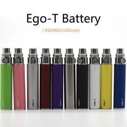 Ego T Protank Australia - EGO T Battery EGO-T 650mah E Cigarette 900mah 1100mah Batteries For 510 Thread Mt3 CE4 CE5 CE6 Mini Protank